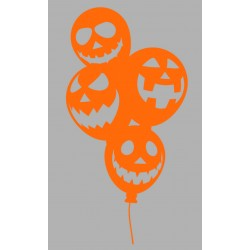 Sticker Ballon Halloween