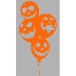 Sticker Big Ballon Halloween