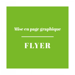 Mise en Page Graphique Flyer