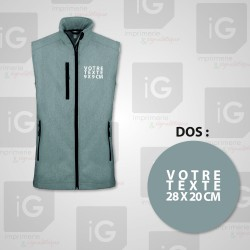 Softshell Homme Sans manches